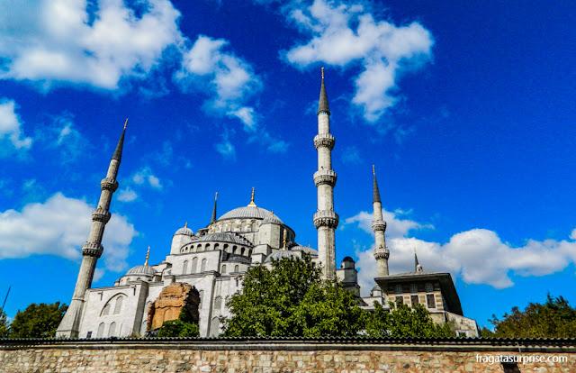 Mesquita de Suleiman, em Istambul