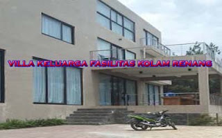 villa keluarga fasilitas kolam renang di lembang badung