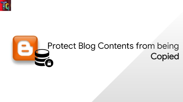 Protect Blog Contents from being Copied