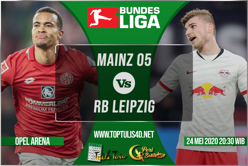 Prediksi Mainz 05 vs RB Leipzig 24 Mei 2020