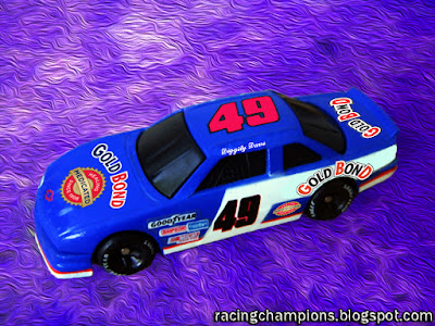 Diggity Dave #49 Gold Bond Chevrolet Racing Champions 1/64 NASCAR diecast blog custom Photoshop