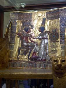 silla de Tutankamón