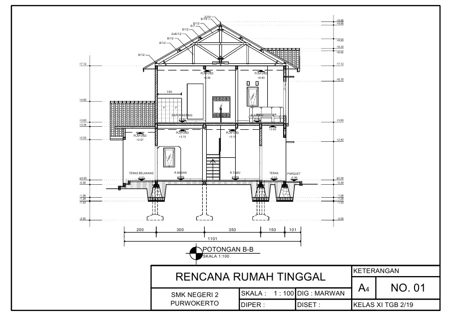Image Result For Contoh Rumah