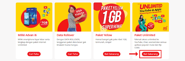 internet unlimited indosat ooredoo di website resmi