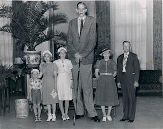 Robert Wadlow, la persona más alta de la historia