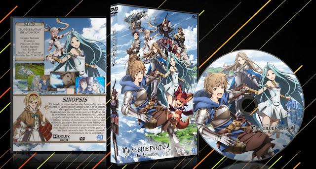 Granblue Fantasy The Animation | Cover DVD | MEGA |