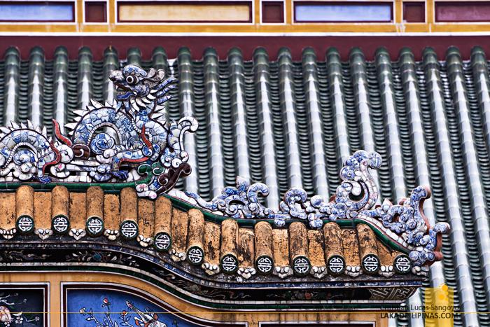 Imperial Citadel Hue Details