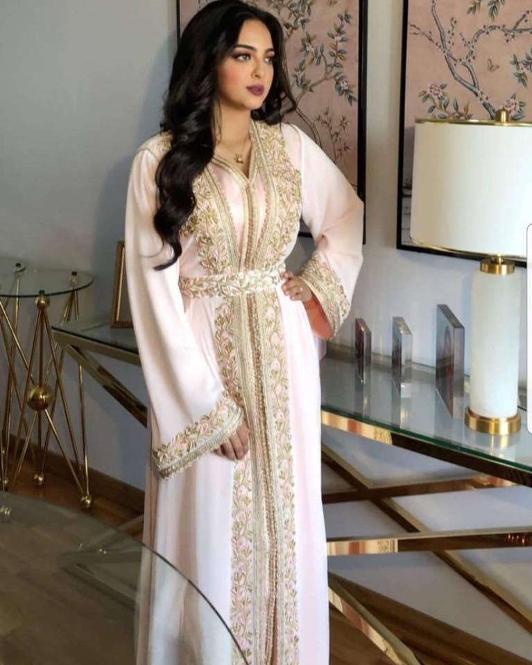 caftan blanc mariée haute couture paris