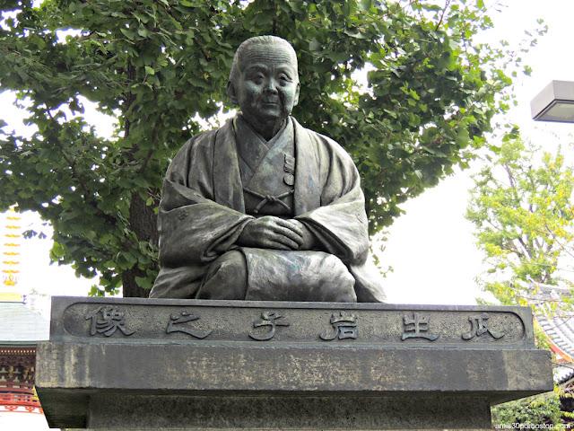 Estatua de Uryu Iwako, Templo Sensoji