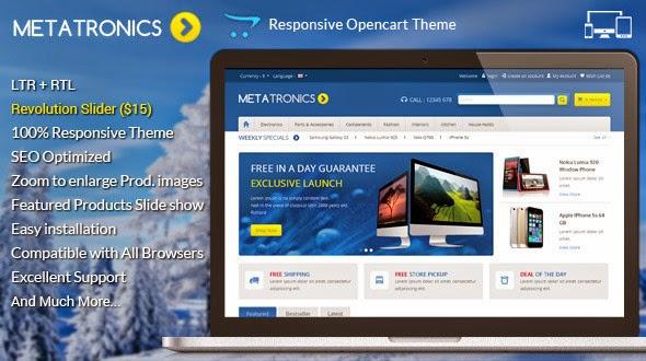 Opencart Responsive Theme