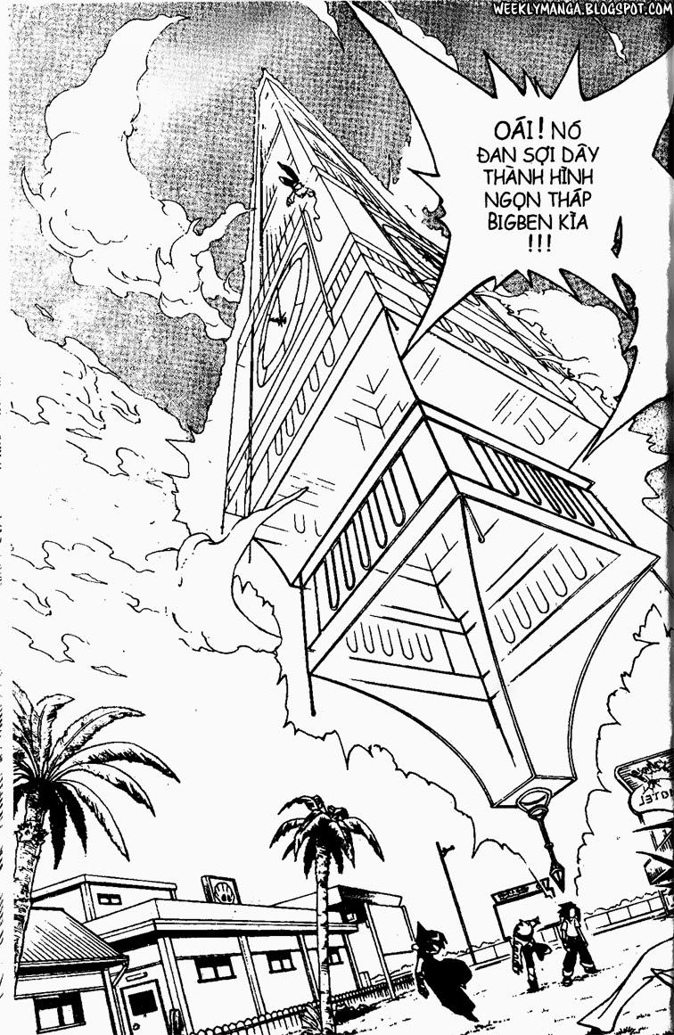 Shaman King [Vua pháp thuật] chap 88 trang 13