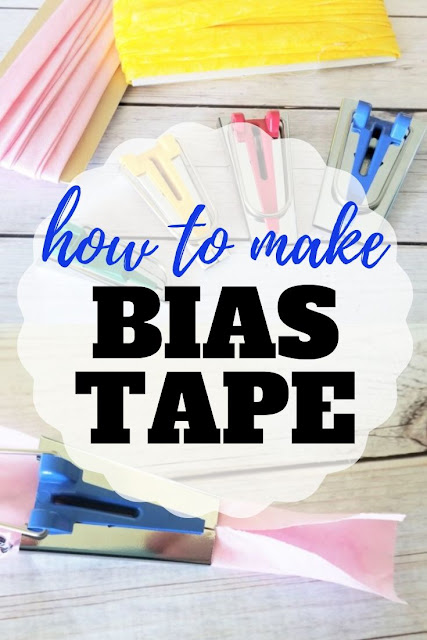Step by step photo and video instructions on how to make bias tape easily with and without a bias tape maker.