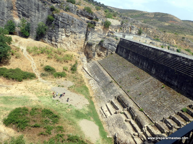 antigua presa Pontón de la Oliva