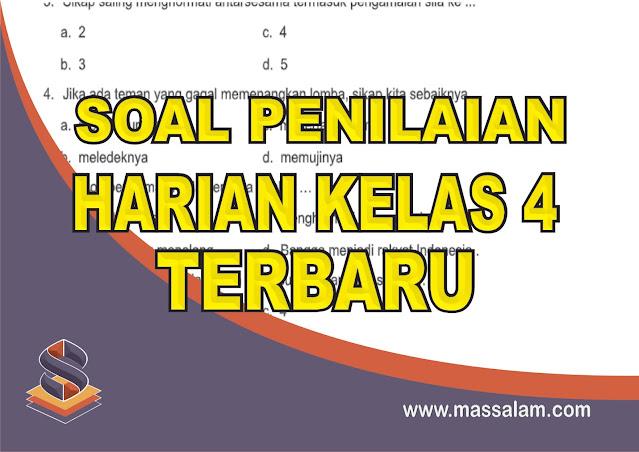 Download Kumpulan Soal Penilaian Harian Kelas 9 Tema 1 sampai Tema 9 Kurikulum 2013 Revisi Terbaru