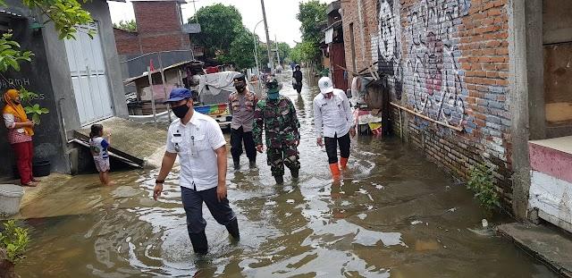 Puluhan Rumah Di Jati Wetan Tergenang Banjir
