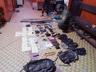 Tim Satgas Gakkum Ops Nemangkawi telah melaksanakan Olah TKP di kampung Mayuberi, Kab. Puncak