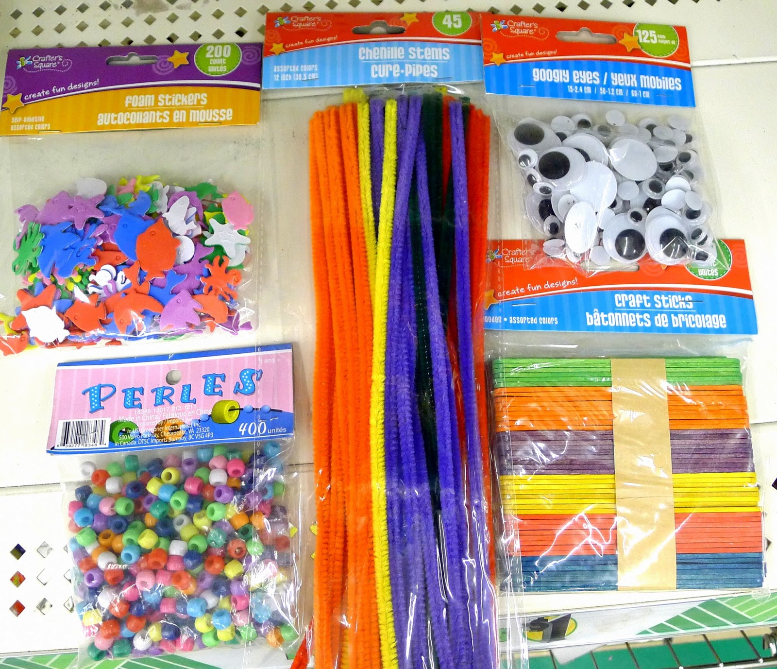 dollar tree arts and crafts sensory starter kit for 20 from the dollar tree 12130