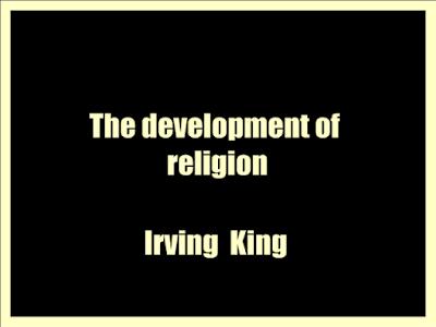 The development of religion;