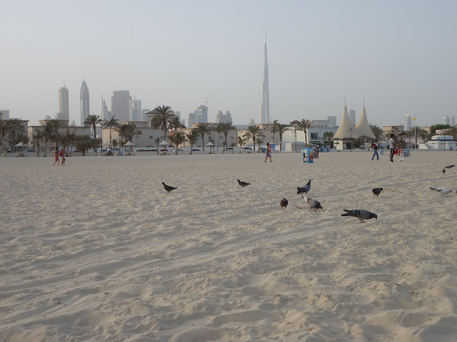 view of Burf Khalifa from Jumeirah Open Beach