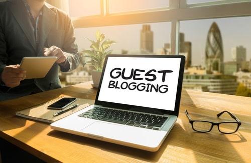 ways to use guest blogging build business backlinks seo linkbuilding