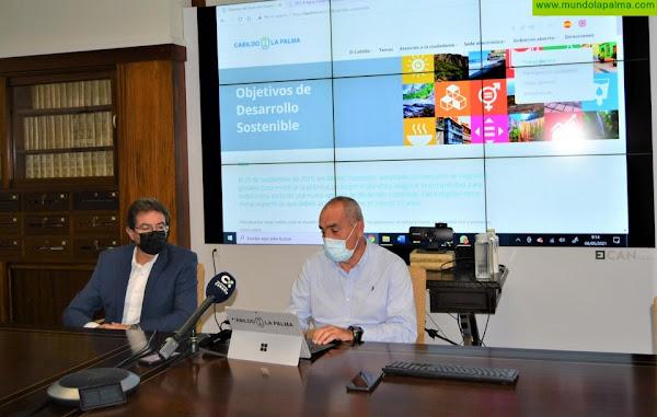 El Cabildo presenta su nueva web, más accesible e intuitiva para todos los usuarios