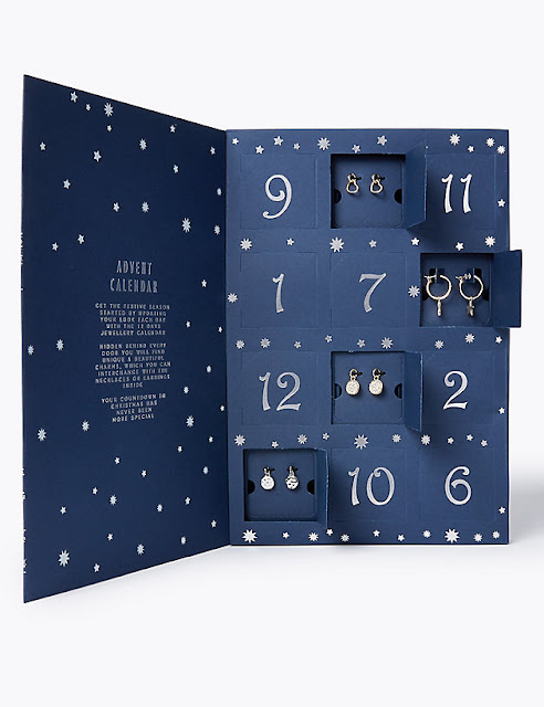marks and Spencer Christmas jewellery advent calendar