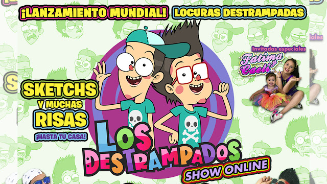 Los Destrampados presentarán un show único en streaming
