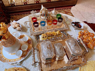 موائد مغربية يوم العيد