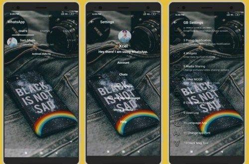 WhatsApp Transparent Prime v9.65 Apk