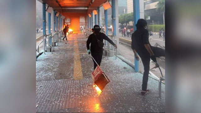 Unggah Foto Terduga Pelaku Pembakaran Halte, TGUPP Anies Janjikan Hadiah iPhone