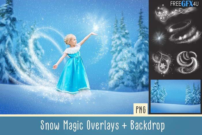 Snow Magic Overlays