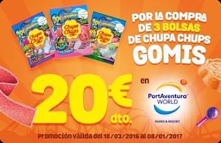 Chupa Chups PortAventura 2016