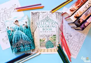 A la venta el libro de La Selección (versión para colorear) de Kiera Cass