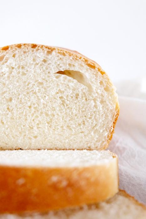 closer view of bread interior