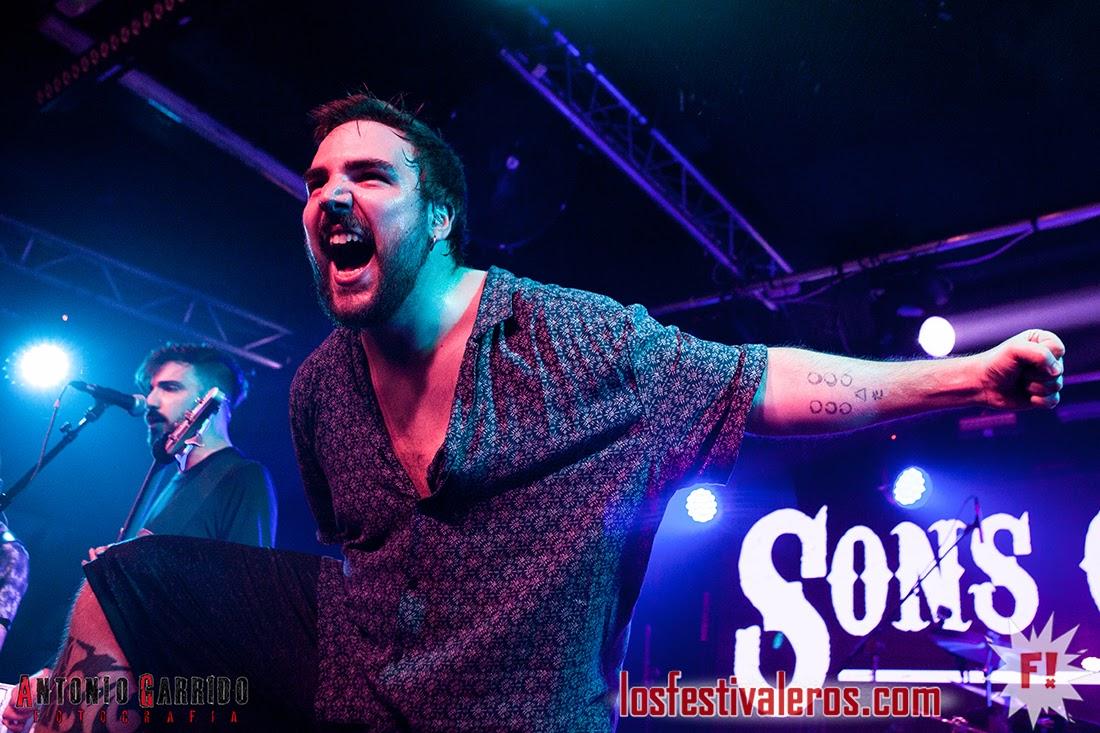 Sons of Aguirre & Scila - Sala Mon Madrid