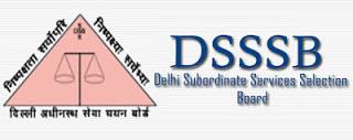 DSSSB Teaching Vacancy 2017 Out