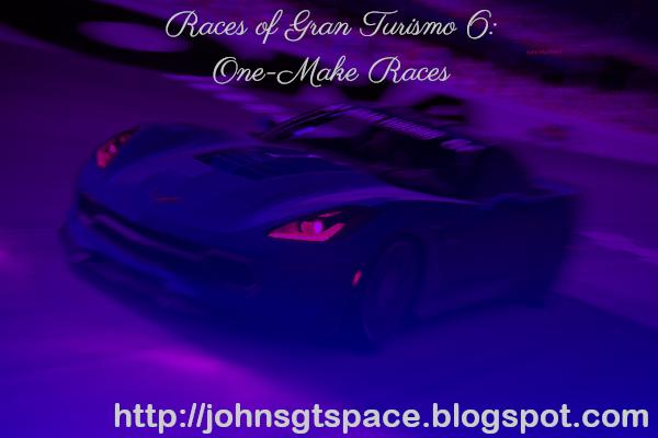 Gran Turismo 6 One-Make Races