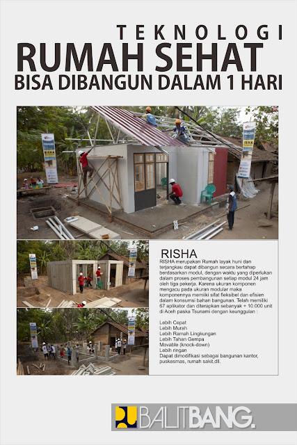 Rumah Instan Sederhana dan Sehat