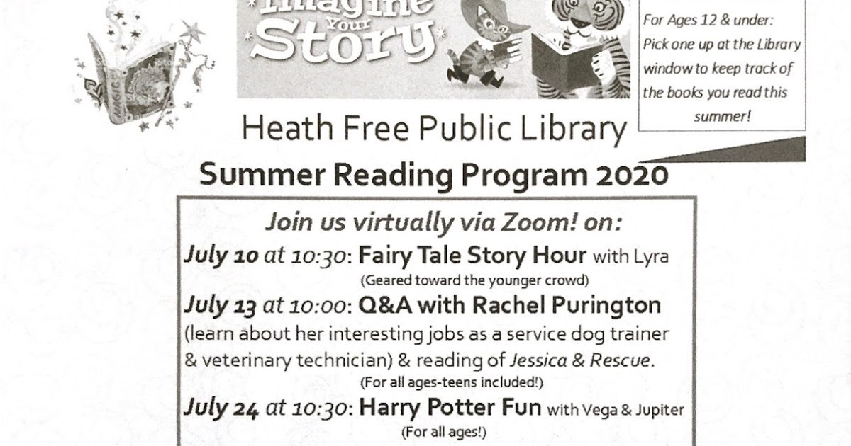 Heath Free Public Library: Summer Reading Program