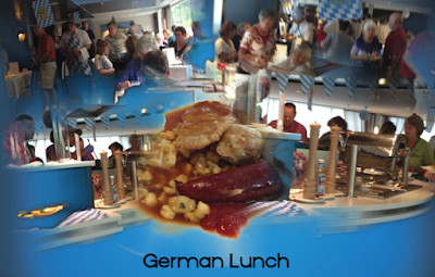 German Lunch Buffet