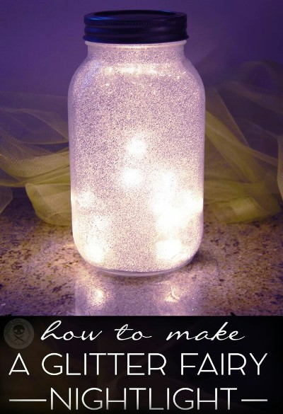 Glitter Fairy Nightlight