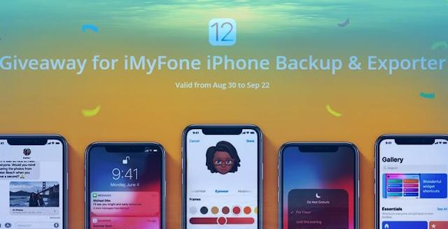 عرض حصري ورائع شركة iMyFone iPhone مفاتييح تفعيل مجانية وتخفيضات تتجاوز 70%
