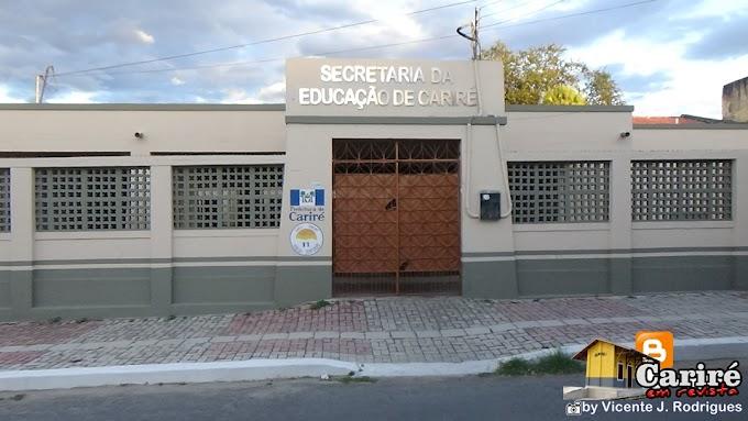 Prédios públicos já estão sendo pintados com as novas cores oficiais do município de Cariré