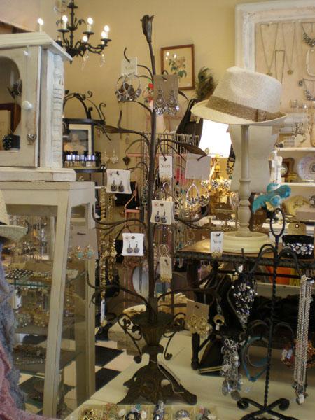 The Attic Repurposed Jewelry Displays