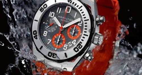 All Best Watches Hamilton Khaki Navy Sub Auto Chrono A