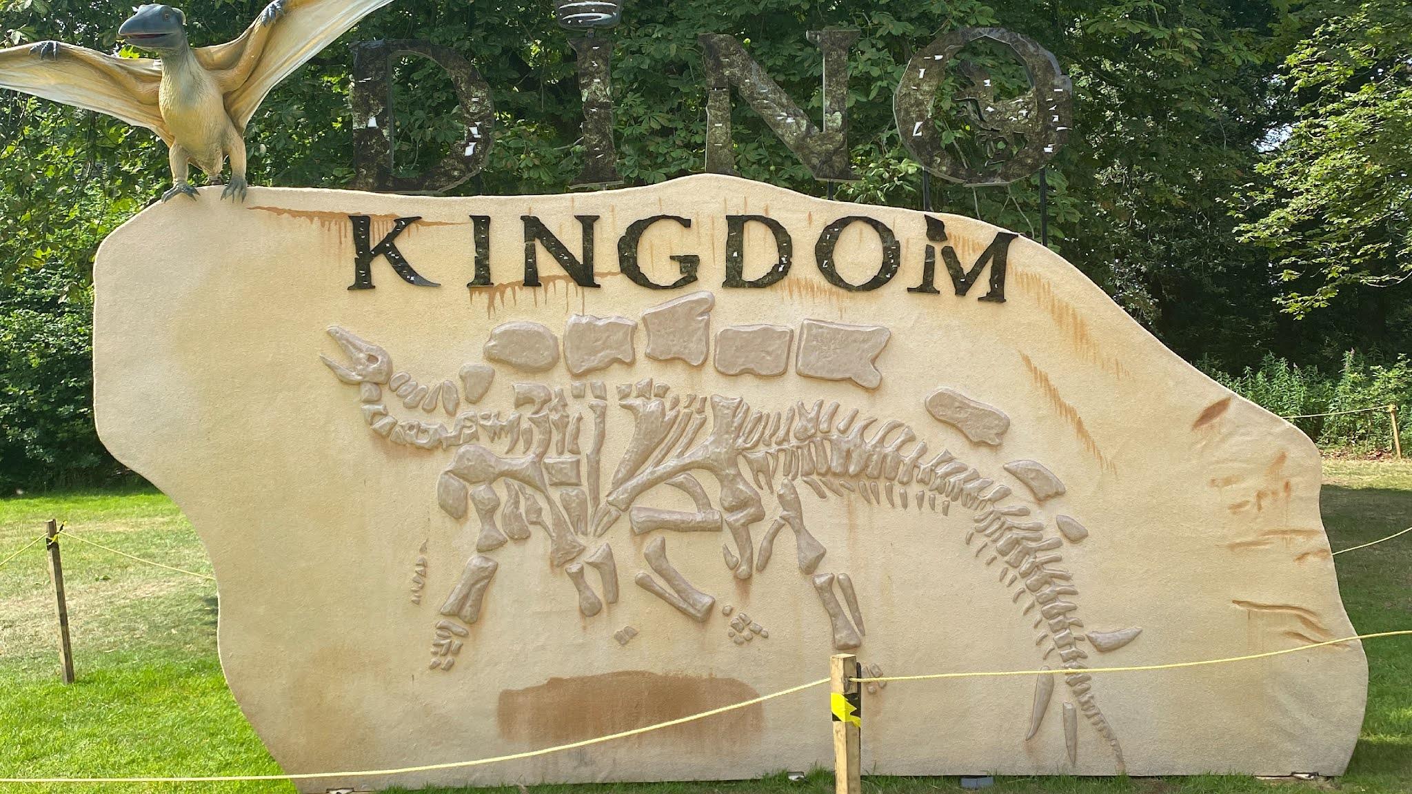 Dino Kingdom Sign