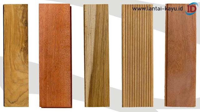 kayu yang memiliki corak khas terbaik untuk lantai