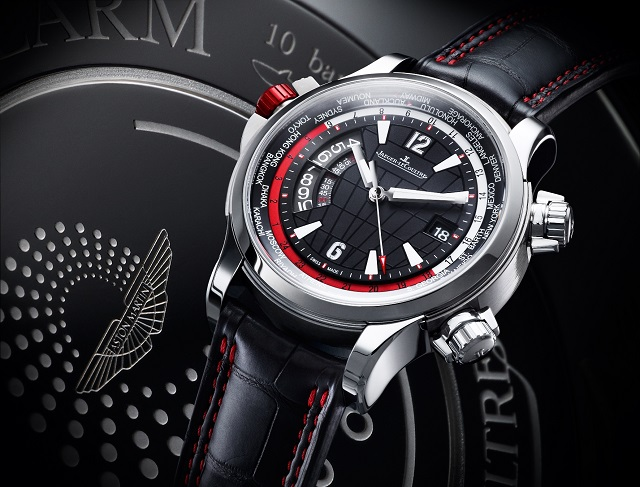 Jaeger-LeCoultre Master Compressor Extreme W-Alarm Aston Martin watch
