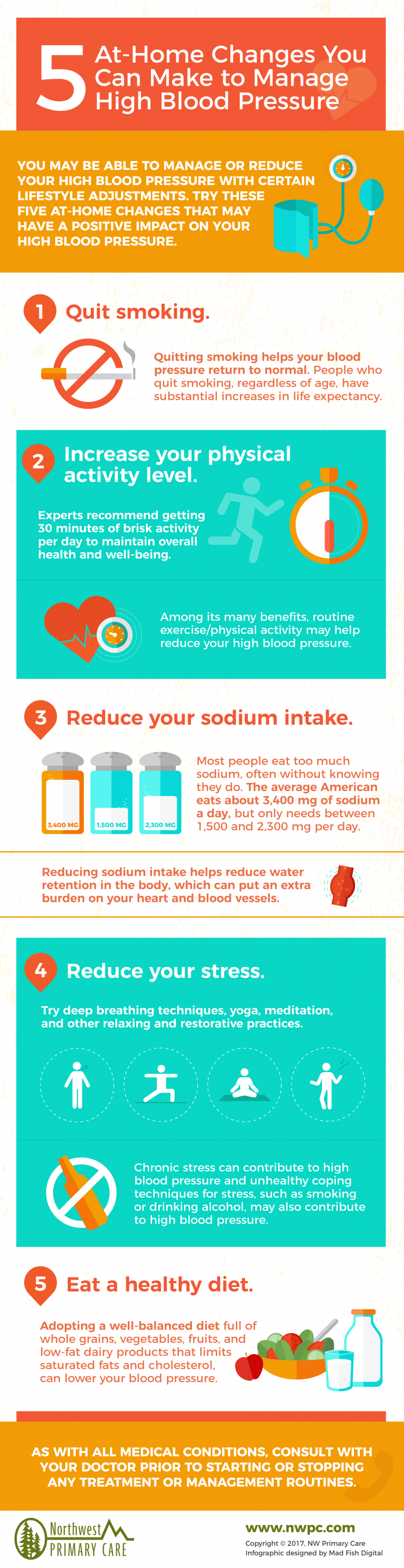 How To Manage High Blood Pressure #infographic #Health #Blood Pressure #infographics #High Blood Pressure