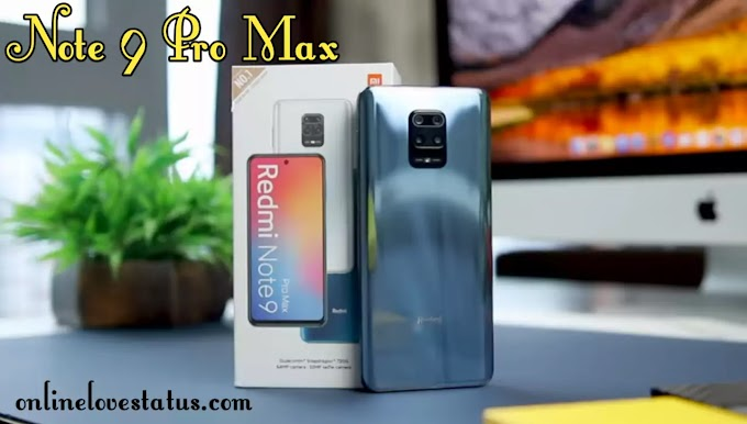 Redmi Note 9 Pro Max Unboxing Price & Full Specifications